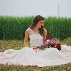 ¿Cómo es una novia dip-dye y por qué todo el mundo habla de ellas?
