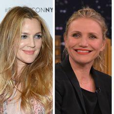 Drew Barrymore, Cameron Diaz, Gwyneth Paltrow et Nicole Richie sans maquillage sur le même selfie