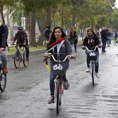 Marina Jaber, l'Irakienne qui pédale pour les droits des femmes (Photos)