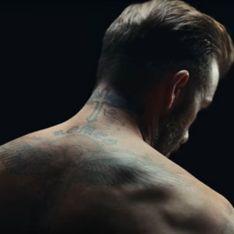 David Beckham dévoile son corps et ses tristes tatouages pour protéger les enfants (Vidéo)