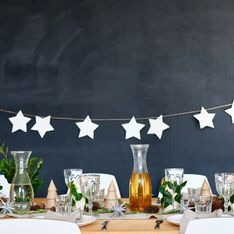 Une superbe déco de table de fête grâce aux meilleures idées trouvées sur Pinterest