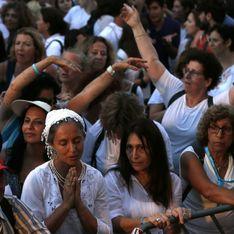 Ces femmes marchent pour la paix entre les religions et les peuples (Photos)