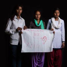Pour la Saint Valentin, ces jeunes filles lancent un puissant appel contre les mariages forcés (Photos)