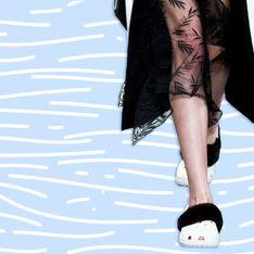 WTF : Les Crocs fourrées du défilé Christopher Kane (Photos)