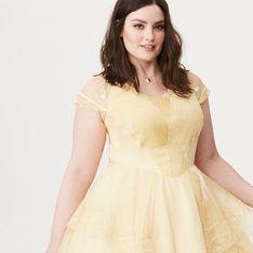 On en rêvait et ils l'ont fait : Une robe La Belle et la Bête pour le printemps ! (Photos)