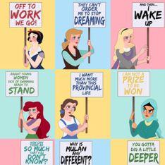 Journée des femmes : Les princesses Disney se mobilisent aussi ! (Photos)
