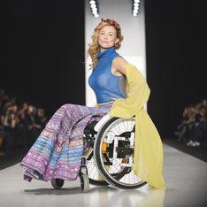 A Moscou, les mannequins défilent en fauteuils roulants sous des tonnerres d'applaudissements (Photos)