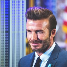 Mais qu'est-il arrivé au visage de David Beckham ? (Photo)