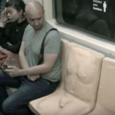 Le métro mexicain et ses sièges à pénis