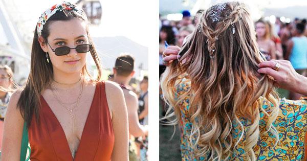 Hallo Coachella Diese Festival Frisuren 2018 Wollen Jetzt Alle