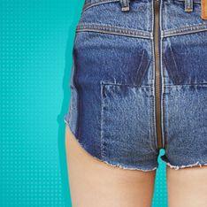 Le nouveau jean que l'on peut dézipper aux fesses... Vous oserez ? (Photos)