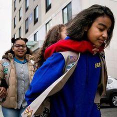 New-York a sa première équipe de scouts composée de jeunes filles SDF