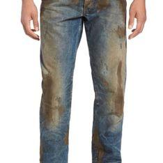 Un jean taché par la boue à 415 euros, ça vous plairait ? (Photos)