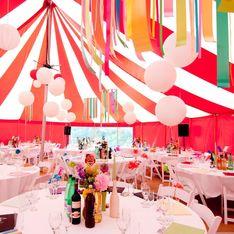 Wild, farbenfroh und wunderschön: Die Zirkus-Hochzeit ist Trend!