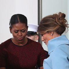 Voilà pourquoi Michelle Obama a eu une réaction bizarre face au cadeau de Melania Trump