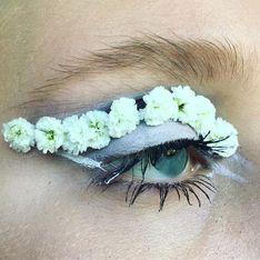 Elle troque son maquillage contre des fleurs, le résultat est envoûtant ! (photos)
