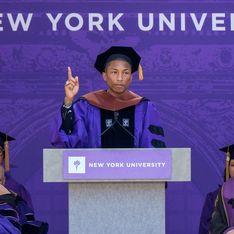 Le puissant discours de Pharrell Williams qui défend l'égalité homme-femme (Vidéo)