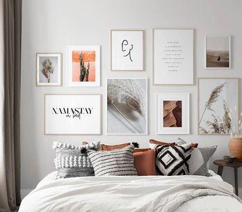 120 idées pour transformer un mur banal en une superbe déco murale