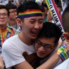 Taïwan, ENFIN une décision historique en faveur du mariage pour tous