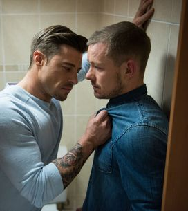 Hollyoaks 09/06 - Kyle Begs Ryan Not To Give Up On Them