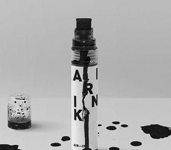 Poluição do ar vira tinta sustentável para canetas