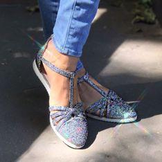 Vous allez vouloir ces baskets bling et cool signées Carrie Bradshaw (Photos)