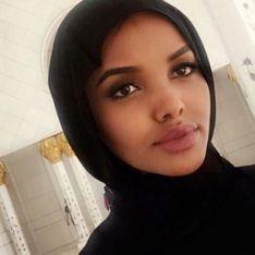 Halima Aden est le premier mannequin noir et voilé en couverture de Vogue Arabia (photos)