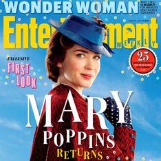 Mary Poppins est de retour, voici les premières images du film !