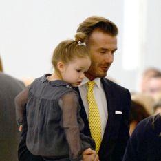 Une photo de David Beckham et sa fille jugée perverse fait polémique (Photos)