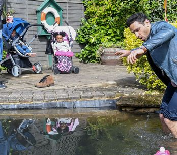 Eastenders 22/06 - Kush Spends The Day With Arthur