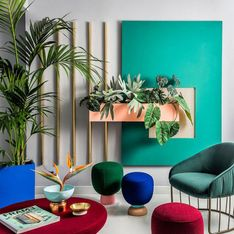 Color block, la tendencia más vital en decoración