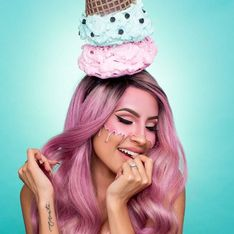 Ice Cream Make-Up, le maquillage le plus rafraîchissant de l'été ! (photos)