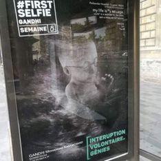 WTF ?! Des affiches anti-IVG sur les abribus parisiens (Photos)