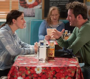 Eastenders 04/07 - Sonia Comes To Blows With Martin Over Bex