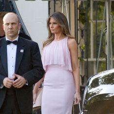 Melania Trump: la invitada perfecta, mejor look de la semana