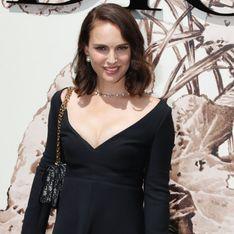Ligne retrouvée, Natalie Portman fait sensation dans une petite robe noire très sexy (Photos)