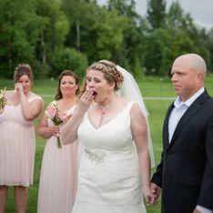 Cette maman qui a perdu son fils a eu la plus belle des surprises à son mariage (photos)