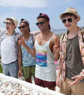 Hollyoaks 25/07 - The Gang Arrive In Ibiza