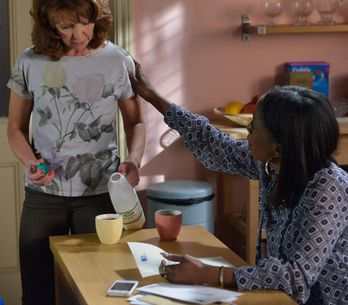 Eastenders 27/07 - Carmel Receives Divorce Papers From Omar