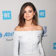 Selena Gomez a fêté ses 25 ans... en pyjama (Photos)