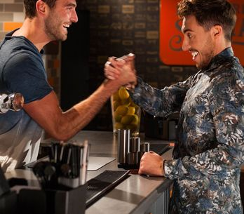 Hollyoaks 31/07 - Scott Gets Himself A Job Working With His Secret Brother