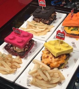 Lego Brick Burgers Now Exist & They Look Insane
