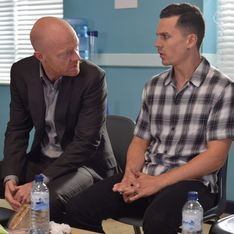 Eastenders 01/08 - Max Corners Steven At The Hospital