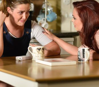 Eastenders 03/08 - Lauren Confides In Whitney About What's Going On With Steven
