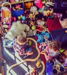 30 ideias para organizar o cantinho dos brinquedos do seu filho