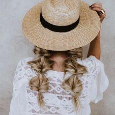 Bubble braids, las trenzas del verano