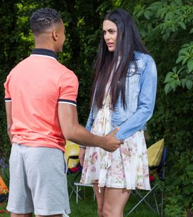 Hollyoaks 09/08 - Neeta Has To Take The Morning After Pill After Hunter's Condom Split