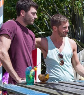 Hollyoaks 17/08 - Brody And Damon Take A Shine To Cleo