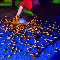 Un restaurante temporal de Cheetos abre sus puertas en Nueva York