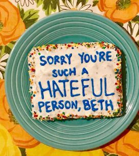 This Bakery Turns Internet Trolls' Comments Into Cakes And Sends Them Anonymously